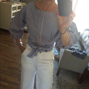 Joa cropped blouse